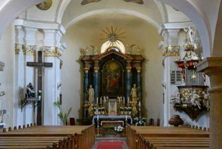 Keresztelő Szent János születése-templom oltára