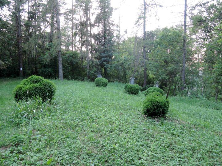 a török időkben elpusztult Petróc falu temetője