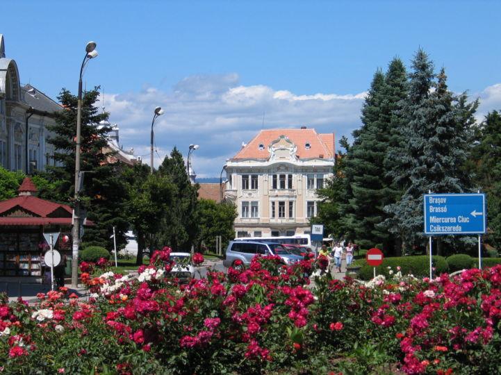 centrul orașului
