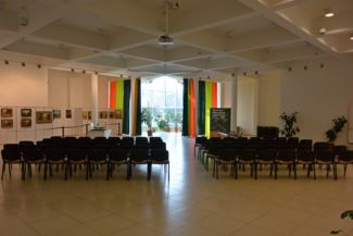 a Tisza-tavi Ökocentrum konferenciaterme