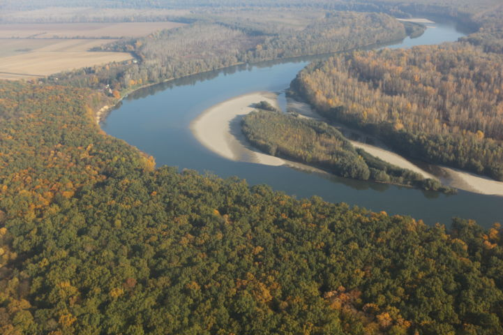 a Dráva Eszék-Baranya megyében Fotó: Zöld Eszék/Antunovac
