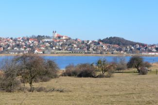 The Inner Lake and the Abbey