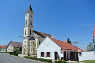 a hegykői Szent Mihály-templom