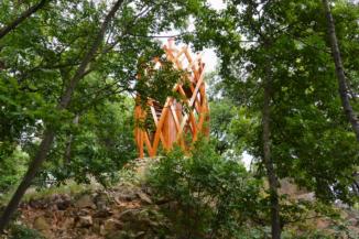kilátótorony a Folly Arborétumban