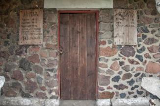 Szent István kilátó bejárata