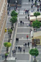 Zrínyi utca a Bazilika kupolájából