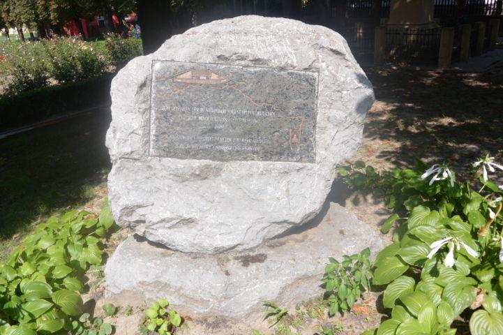 Bácsbokodra települt németek emlékműve