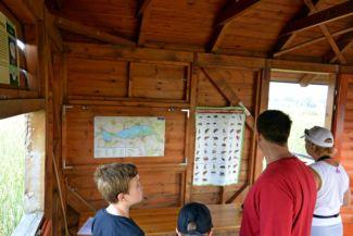 Tisza-tavi Vízi Sétány és Tanösvény- egy megfigyelő állomás