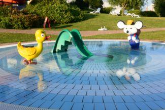 paddling pool in the Annagora Aquapark