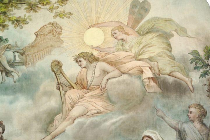 festmény a Festetics-kastélyban