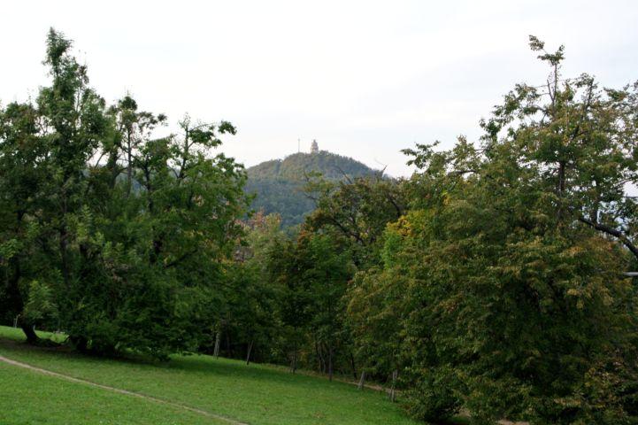 a János-hegy a Normafától nézve