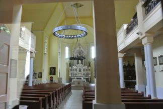a Jézus Szíve-templom belseje