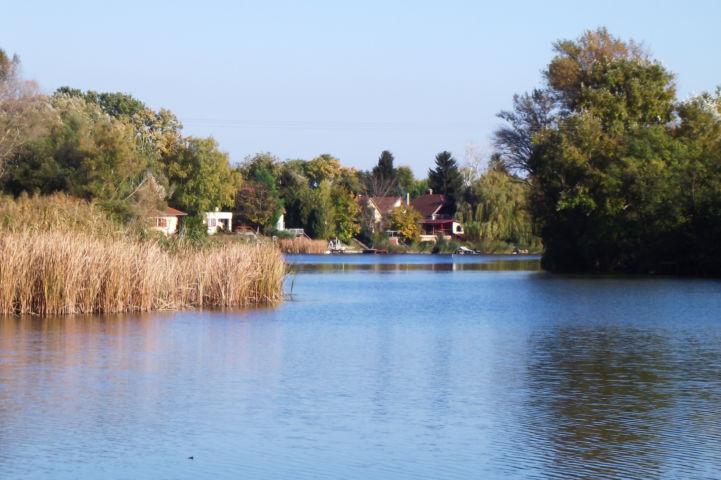 a Ráckevei-Duna egy szakasza