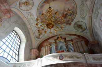 a Szent Kereszt felmagasztalása templom belseje
