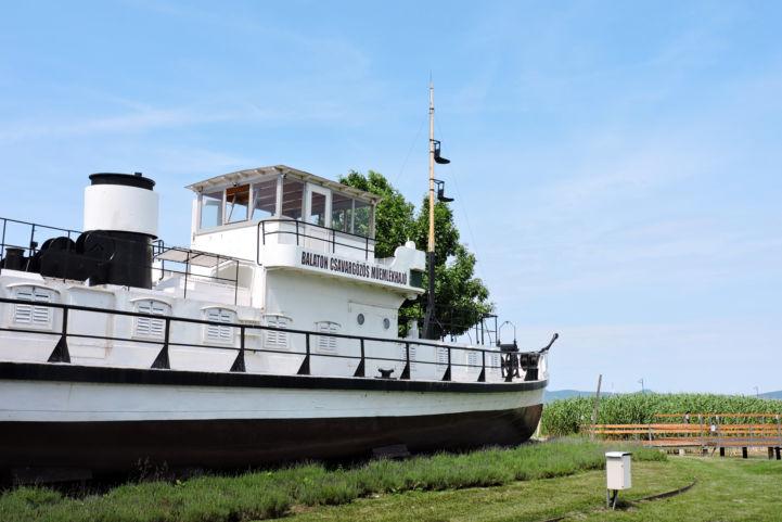 Balaton Csavargőzös műemlékhajó