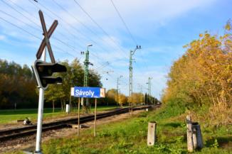 a Budapest–Nagykanizsa vasútvonal átkelője