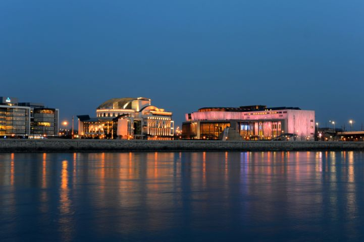 The National Theatre and the Palace of Arts