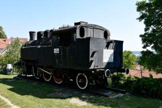1969-ig közlekedett ez a gőzmozdony  Alsóörs és Veszprém között