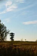 madármegfigyelő állomás Vörs közelében