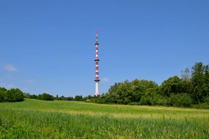 TV-torony a Tukora-tetőn