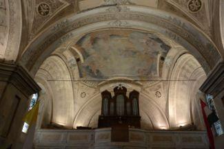 Szent Kereszt felmagasztalása-templom orgonája és boltozata