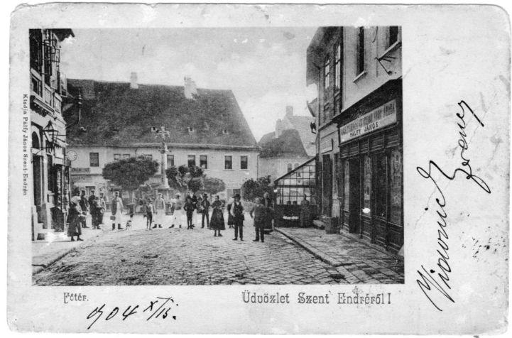 régi szentendrei képeslap
