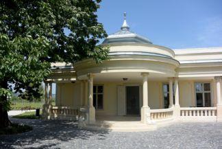 Halász Gedeon központ, Halász-kastély, oldalbejárat