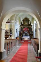 Szentháromság-templom belseje