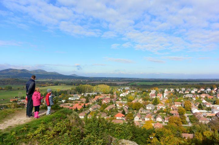 kilátás a nógrádi várból