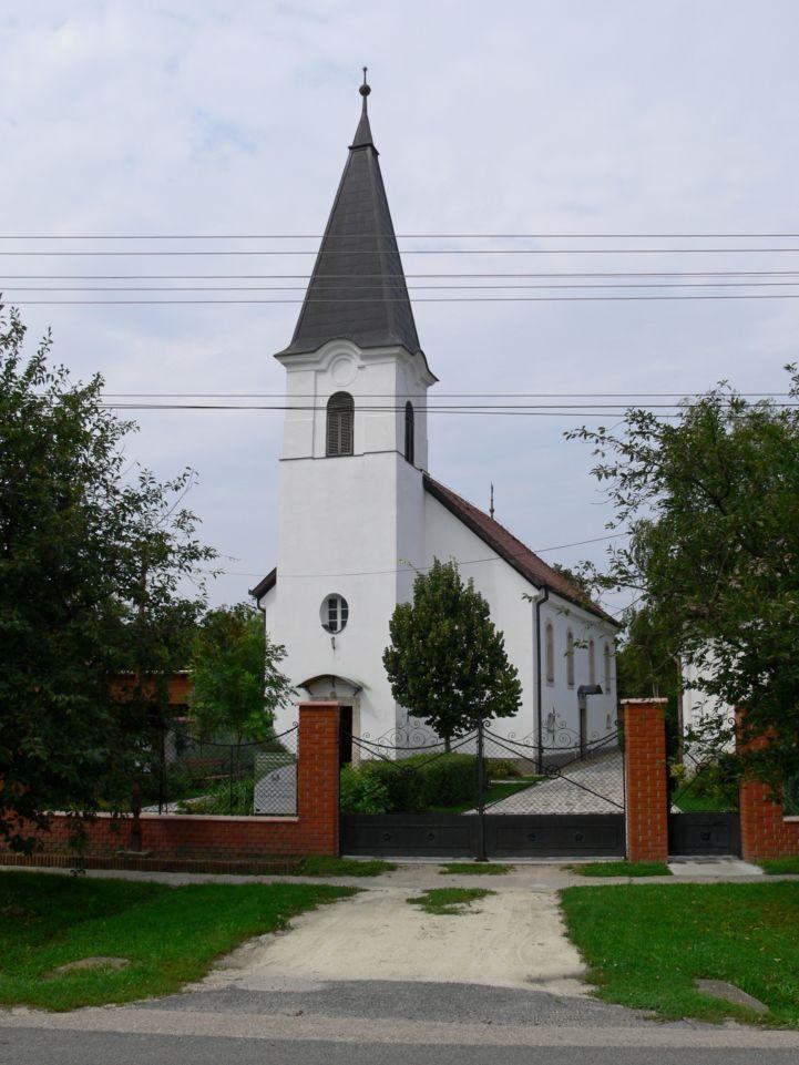 Gyúrói Református Egyházközség temploma