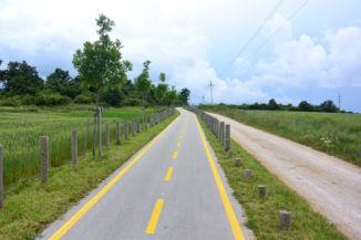 Veszprém és Nemesvámos közötti bicikliút