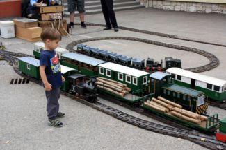 vasútmodell Csömödéren