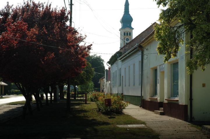 katymári utcakép