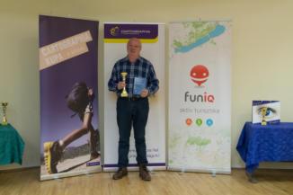 Tolvaj Gyula, a 2017-es Cartographia Kupa kiemelt teljesítője 24 túrával