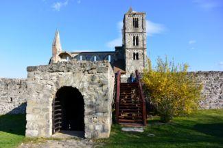 zsámbéki romtemplom - premontrei kolostor