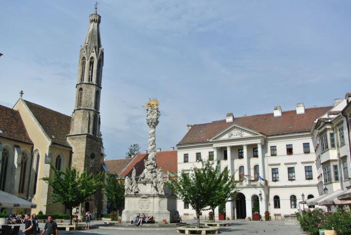 a város  főtere