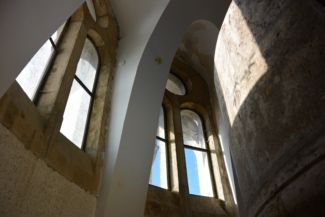 az Erzsébet-kilátó ablakai