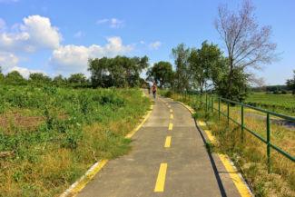 bicikliút Balf és Fertőrákos között
