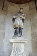 Nepomuki Szent János-szobor a Gloriettben