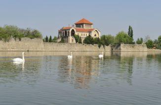 Tatai vár az Öreg-tó partján