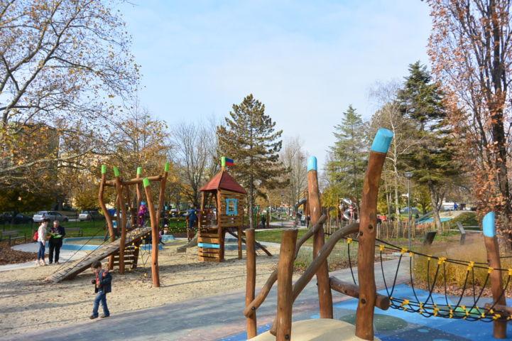 Koronás Park játszótér