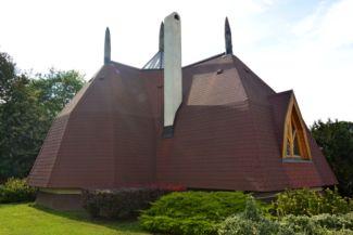 organikus épület