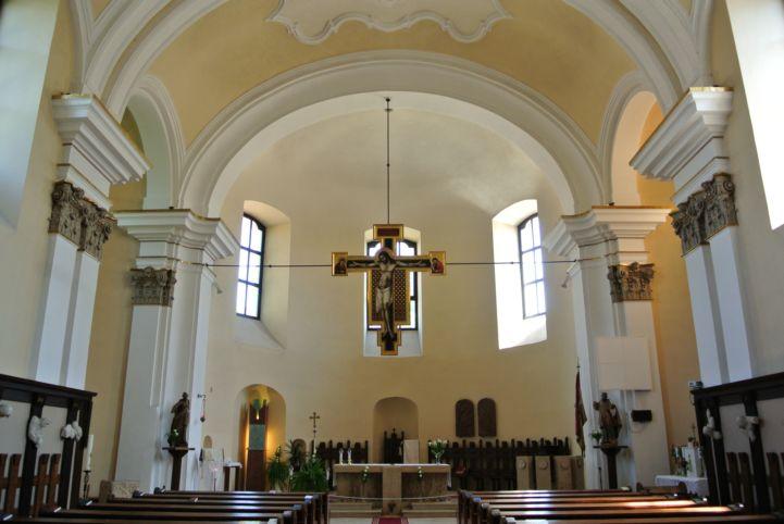 Péter-Pál-templom belülről