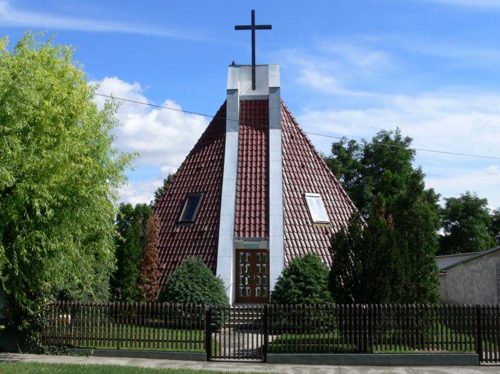 Baptista Gyülekezet temploma