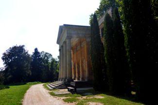 Habsburg-kastély megmaradt főhomlokzata