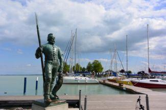a Halász szobra