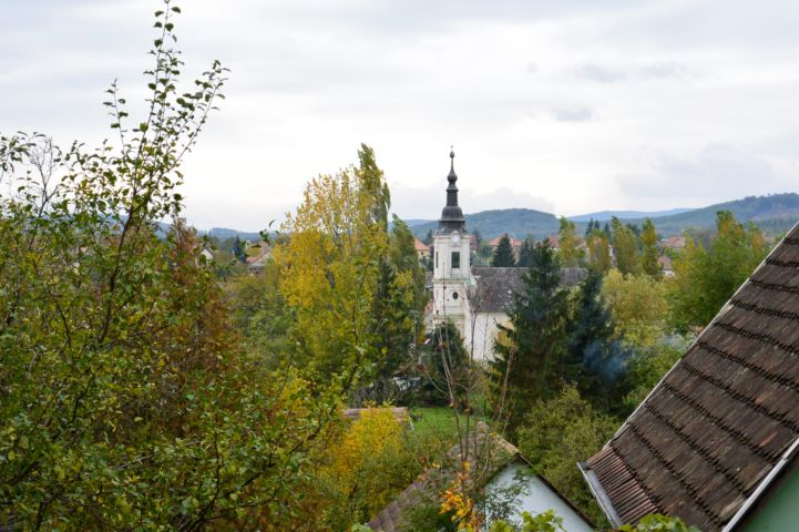 református templom a pincesor felől