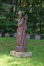 Szent Márton szobra Lentihegyen