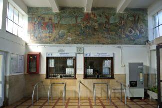 a Gyermekvasút Széchenyi-hegyi végállomásának jegypénztára