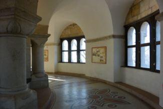 az emeleti kerengő az Erzsébet-kilátóban